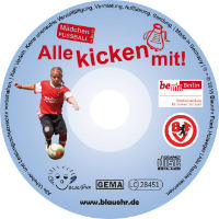 CD Label Alle kicken mit