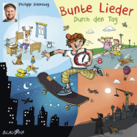 CD Cover Bunte Lieder Durch den Tag